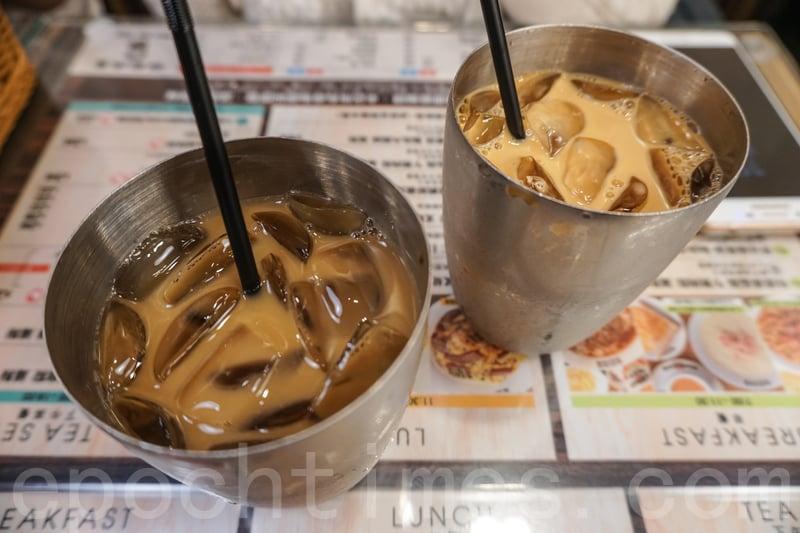 兩個套餐配的奶茶和咖啡就普普通通。