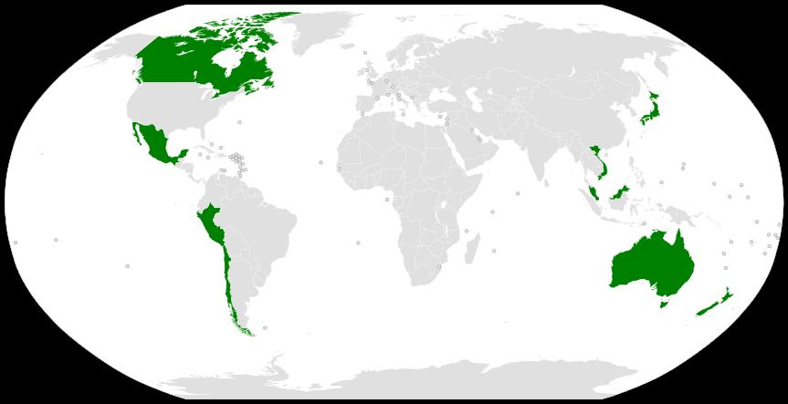 新跨太平洋夥伴協定 年底生效