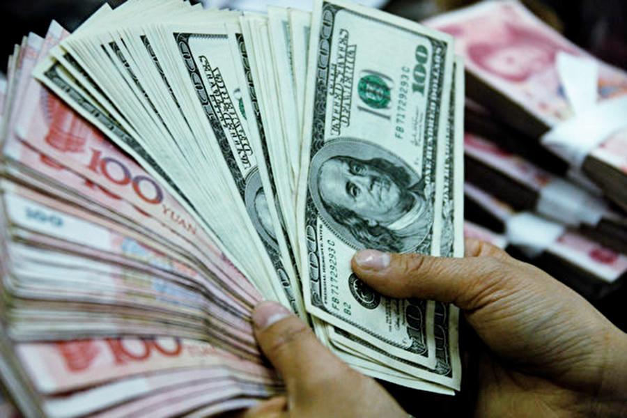 人民幣匯率續跌 近破7關卡