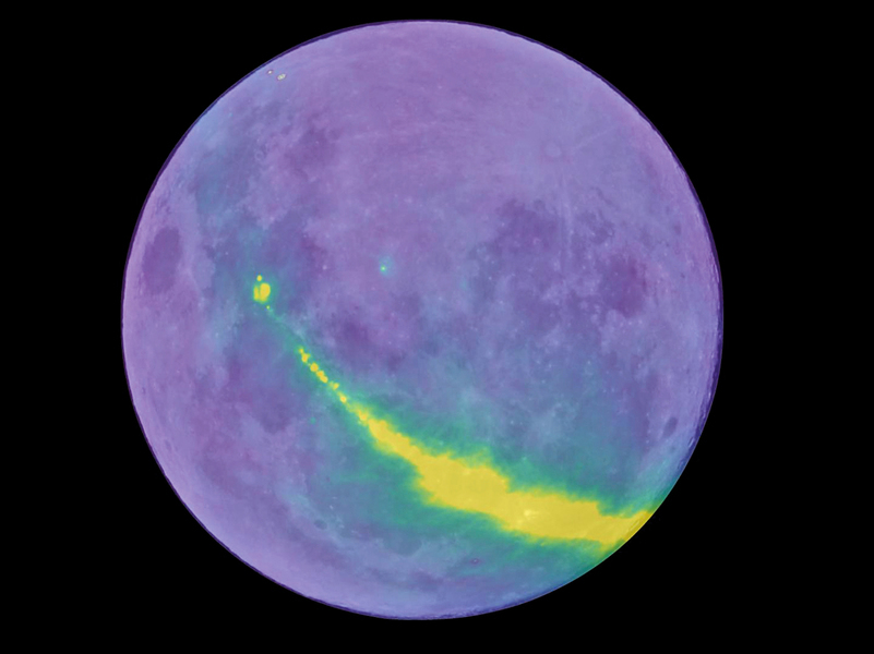 月球反射無線電波 助人類看到宇宙的過去