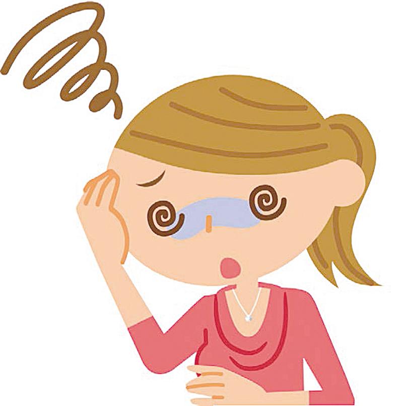 頭暈目眩原因多