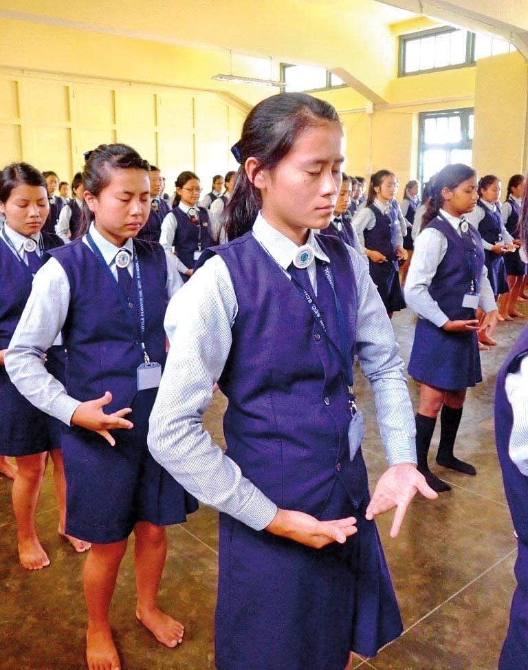 印度年輕人 學煉法輪功 紓解壓力