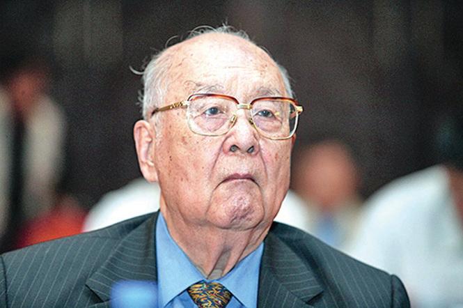 光大集團創辦人王光英2005年9月照片。(大紀元資料室)