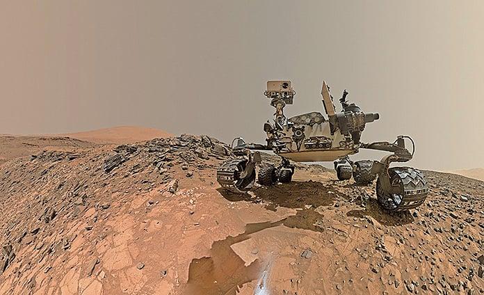 顛覆科學認知,最新研究發現火星或有足夠氧氣維持生命。(NASA)