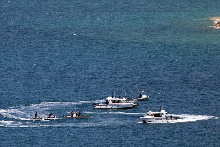 澳洲和巴布亞新幾內亞星期四(11月1日)同意重建位於澳洲北方的馬努斯島上的朗布倫(Lombrum)海軍基地。 (Photo credit should read VANESSA 'NESS' KERTON/AFP/Getty Images)