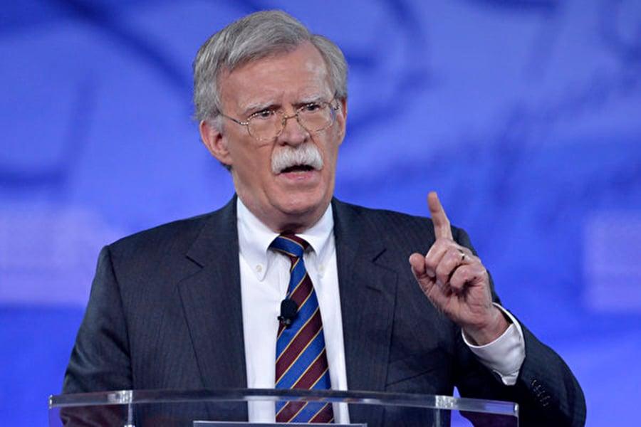 美國國家安全顧問博爾頓(John Bolton)。(AFP)