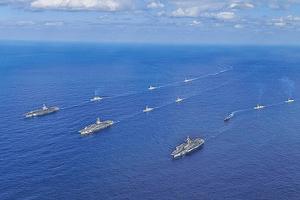 美加日印澳部署圍堵中共 頻軍演應對北京軍事擴張