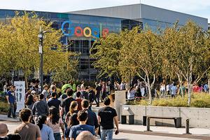 谷歌全球二萬員工接力罷工