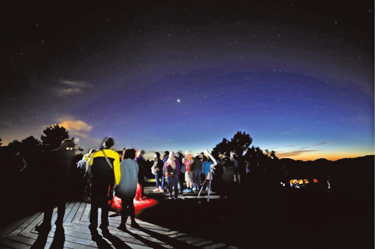 操作望遠鏡:實地操作望遠鏡。