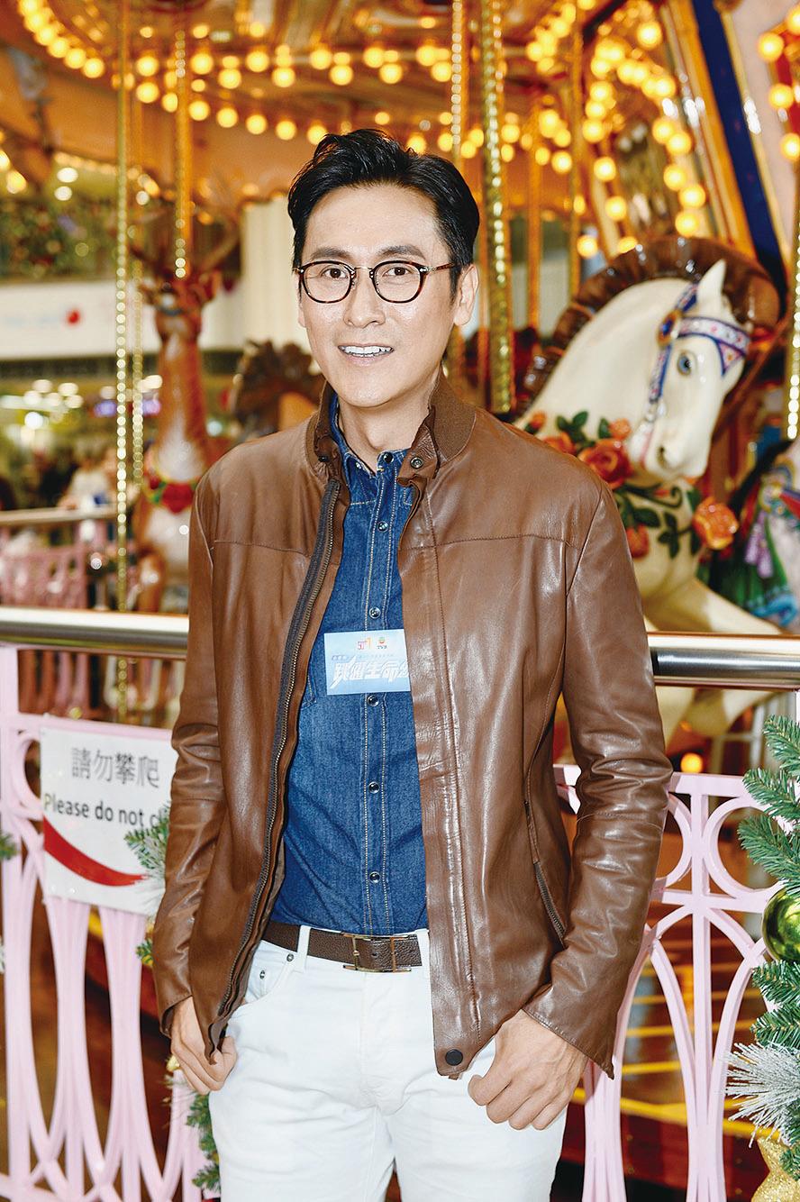 藝人馬德鐘2日出席無綫台慶劇的宣傳活動,談及藍潔瑛的離世,馬德鐘表示惋惜。(宋碧龍╱大紀元)
