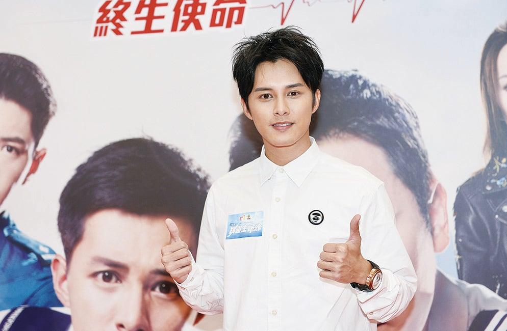 何廣沛與好兄弟張彥博、羅天宇及郭子豪重演F4《流星雨》的經典MV,大獲好評。(宋碧龍╱大紀元)