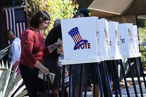 美中期選舉倒計時 呈現四大跡象