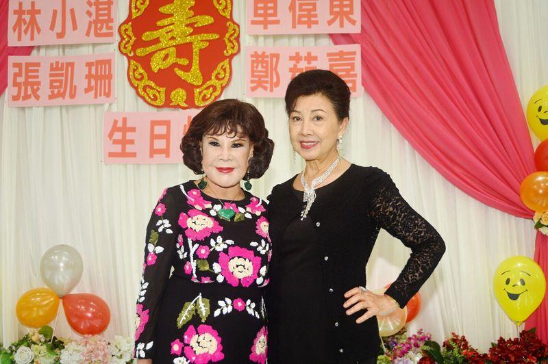 林小湛生日宴 夏蕙姨到場姊妹同台