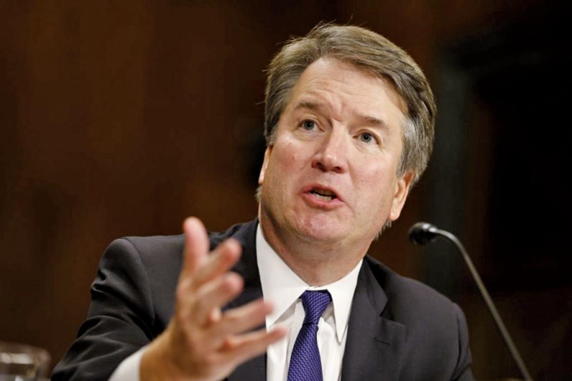 最高法院大法官卡瓦諾(Brett Kavanaugh)。(Getty Images)
