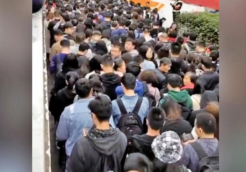 進博會上海開幕 市民放假學校停課警察駐旅店