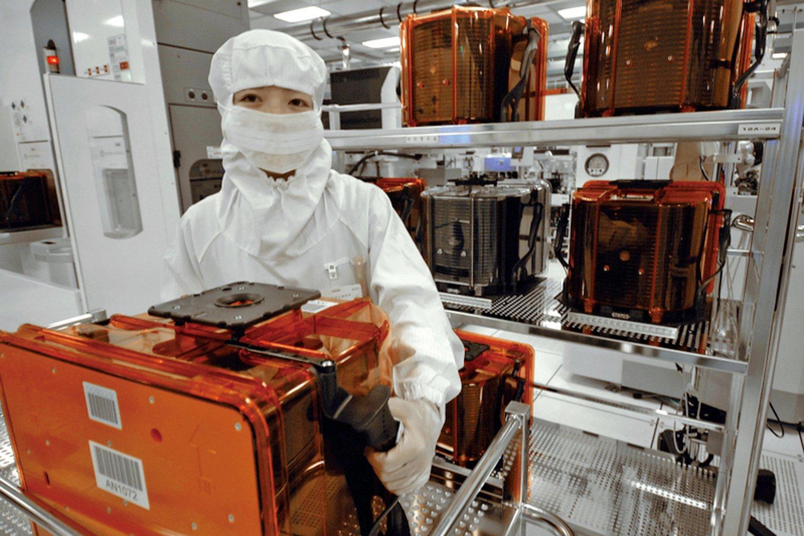 中共為達2025年自製半導體晶片40%的目標,把台灣與美國列為竊取技術的主要目標。圖為示意圖。(Getty Images)