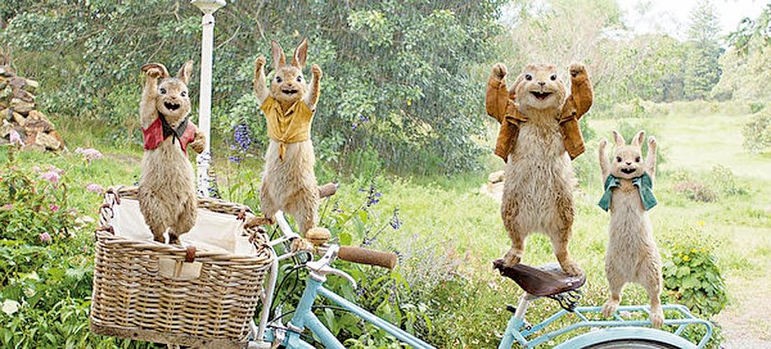 """電影""""波特小姐:比得兔的誕生。""""一場景(索尼影業提供)"""