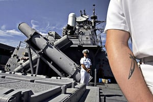 中美軍艦南海危險逼近 兩軍對話及影片曝光
