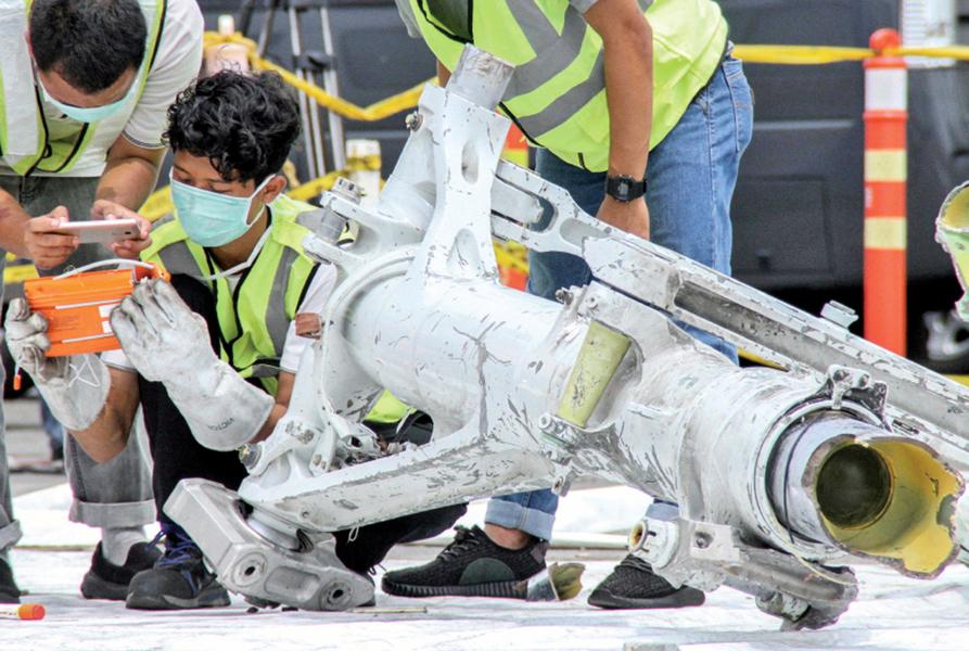 獅航失事飛機 空速表四次發生問題