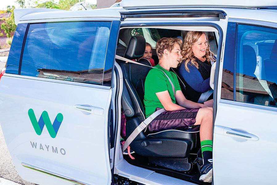 Waymo無人自駕車  獲准在加州矽谷路測
