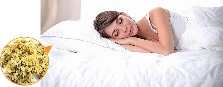 換個枕頭改善眼疾? 古人用菊花枕養生