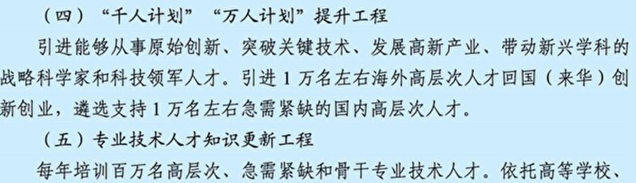 中共的十三五規劃綱要截圖。
