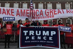【新聞看點】華人特粉挺貿戰:對中美有利