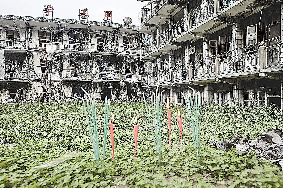 今年是2008年中國四川汶川大地震十周年。(Getty Images)