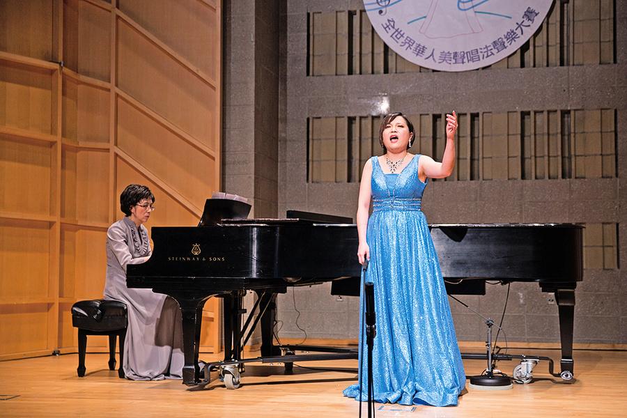 華人美聲新星喜登國際舞台