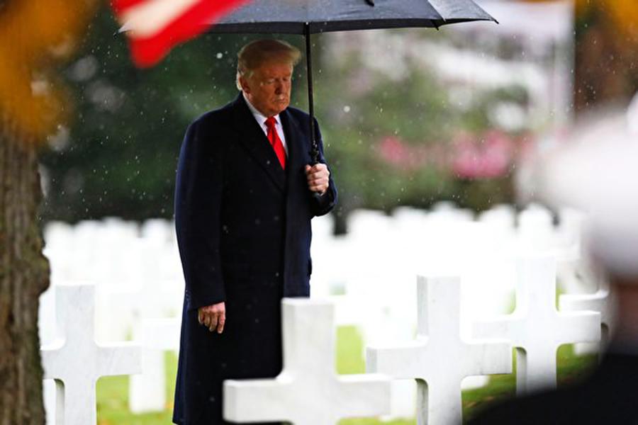 一戰百年紀念 特朗普:守護陣亡者捍衛的和平