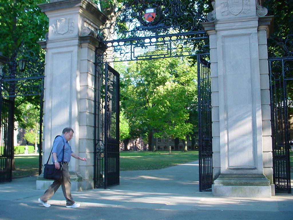 普林斯頓大學校園一角。 (大紀元)