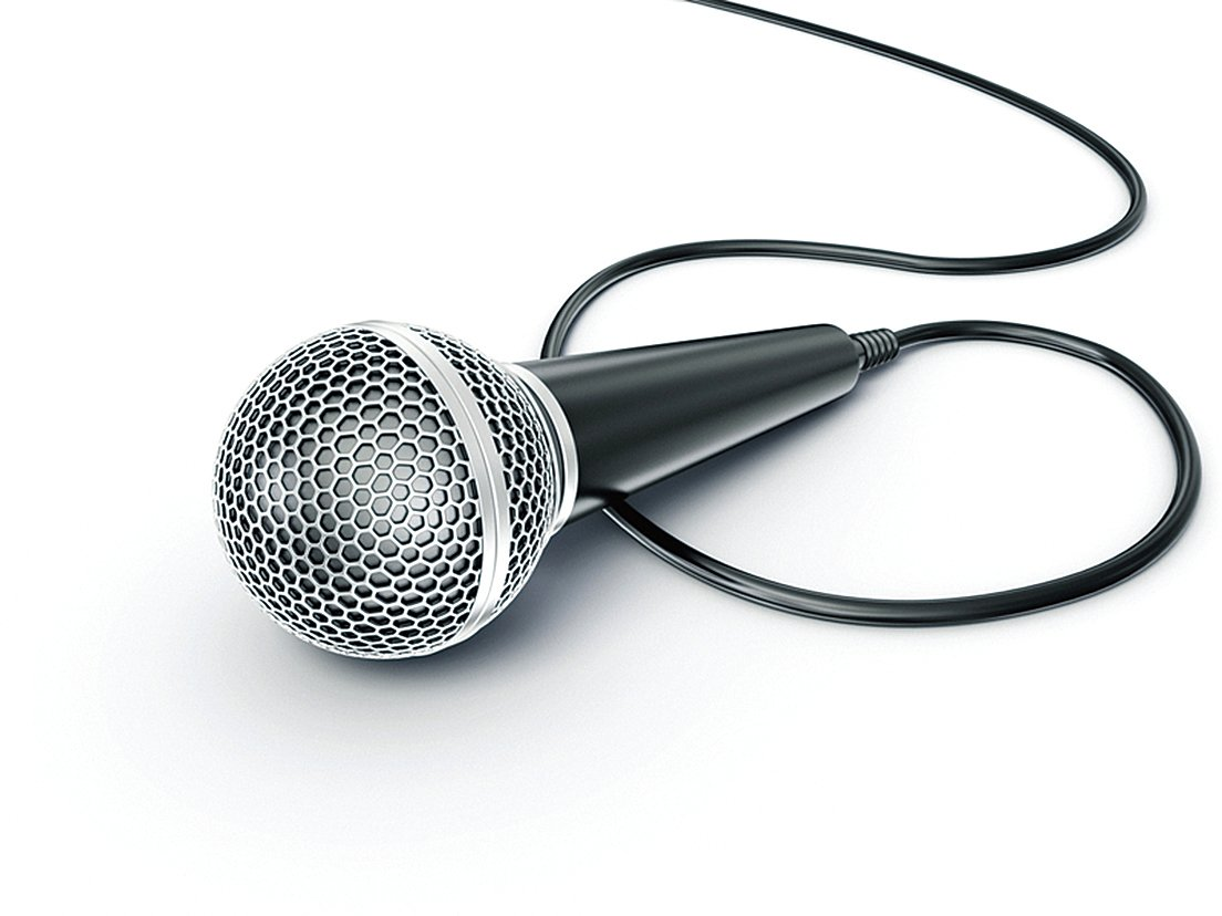 塞爾維亞科學家研製出石墨烯麥克風,具有相當的敏感度,可接收人耳聽不到的聲音。圖為一支傳統的麥克風(Fotolia)