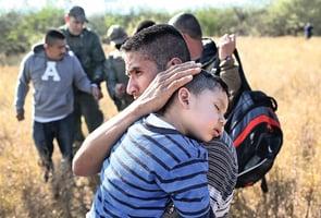 美墨邊境非法移民激增