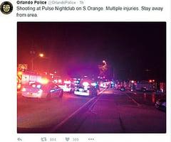 美佛州發生槍擊 至少50人喪生53人傷