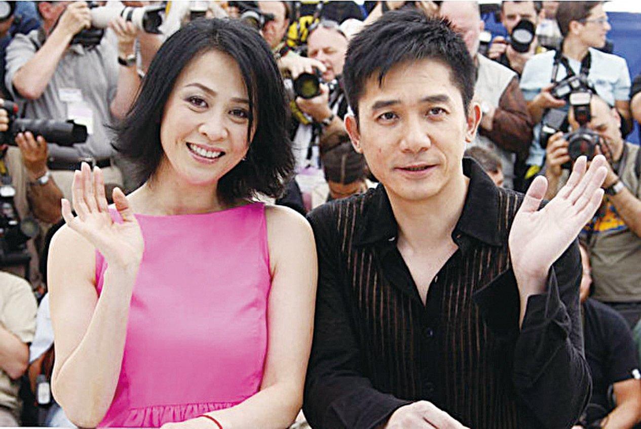梁朝偉與劉嘉玲夫婦。(Getty Images)