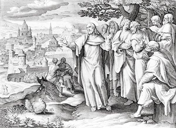 耶穌基督預告自己的死亡及復活,也預言了聖殿及耶路撒冷的毀滅。(Hulton Archive / Getty Images)