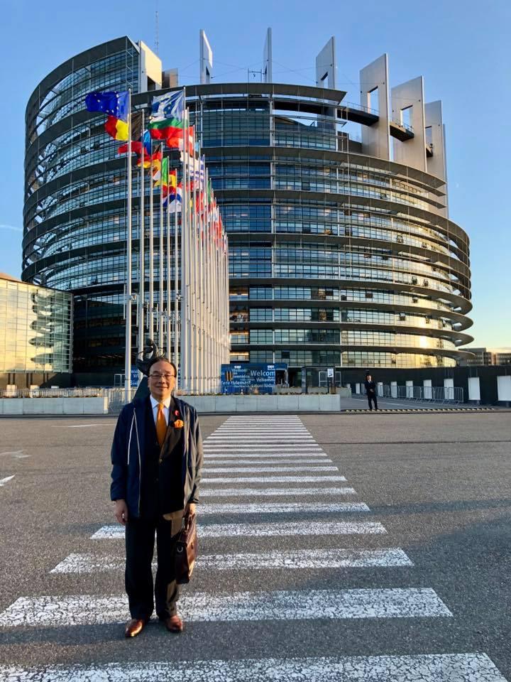 梁家傑與李柱銘獲邀赴歐洲議會 確保一國兩制優勢