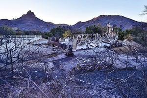 史上最慘 加州山火44死 特朗普宣佈為重大災害