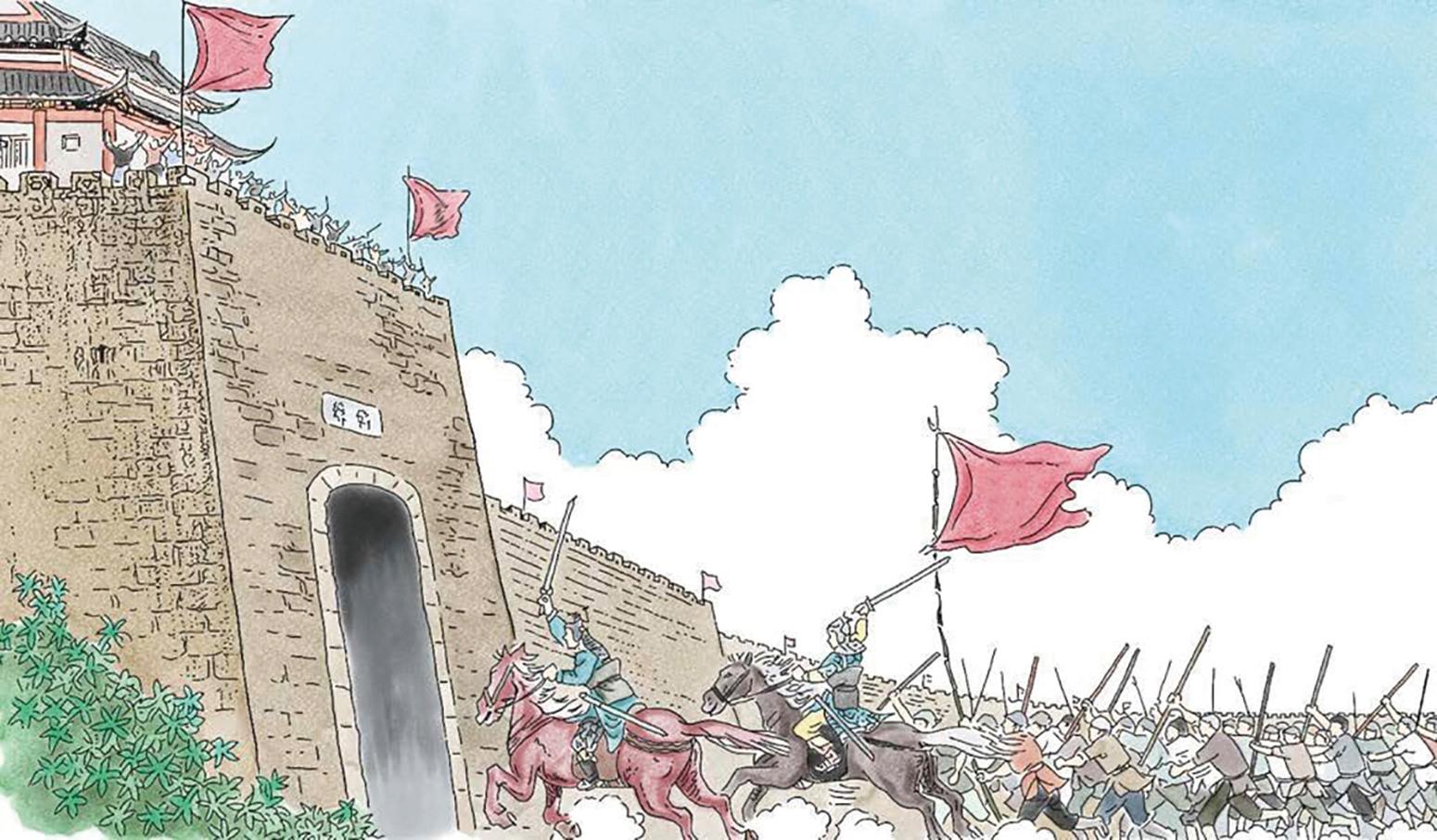 陳勝的部下呂臣等人率領的「蒼頭軍」,後來與項羽、劉邦等人的軍隊聯合反秦,終於在公元前206年,一起將秦朝消滅。(新唐人)