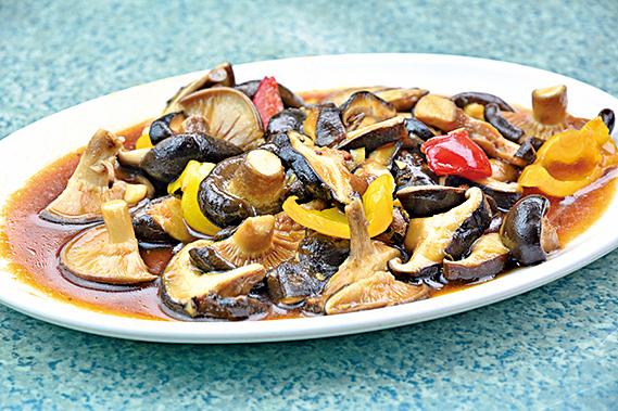蠔油燴香菇。