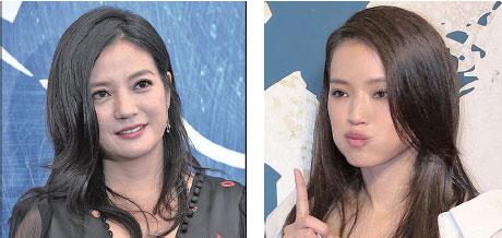 因參與綜藝節目「中餐廳」薪酬超標,傳知名女星趙薇(左)、舒淇(右)各要退回 4,000 萬元。(AFP/ 大紀元資料室)
