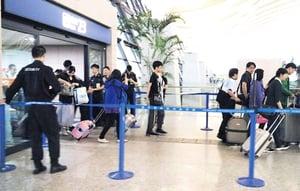 上海浦東機場昨發生爆炸