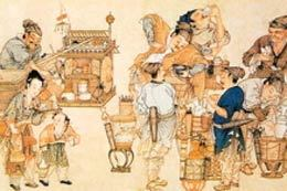 茶興於唐而盛於宋,飲茶蔚然成風,如中原和西北少數民族地區,都嗜茶成俗。(大紀元圖庫)
