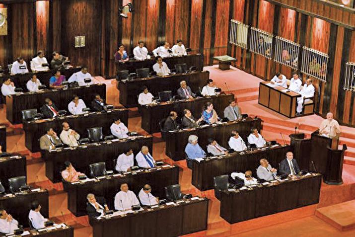 斯里蘭卡議會當地時間11月14日投票,罷免了親中共總理拉賈帕克薩(Mahinda Rajapaksa)。(AFP)