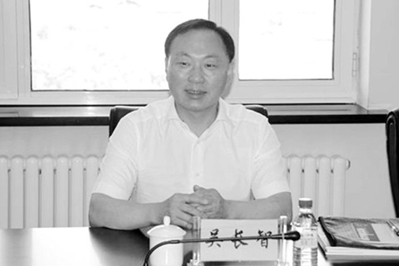 吳長智是江派高官杜青林的外甥。(微博圖片)