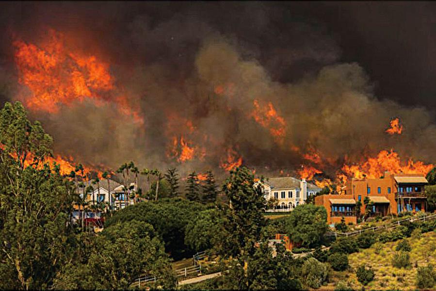 加州大火殃及荷里活導演嘆活命很重要