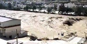 金沙江堰塞湖洩洪致下游現大洪水 災情嚴重