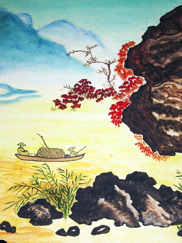 【傳奇小說】徐霞客怪石叢中的歷險(三)