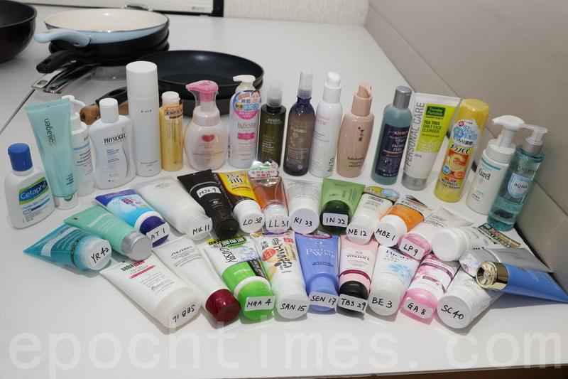 九潔面產品含可致敏防腐劑