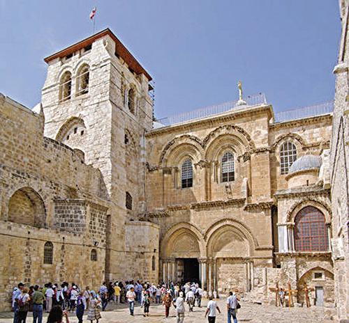聖墓教堂今貌。(Berthold Werner/Wikimedia Commons)